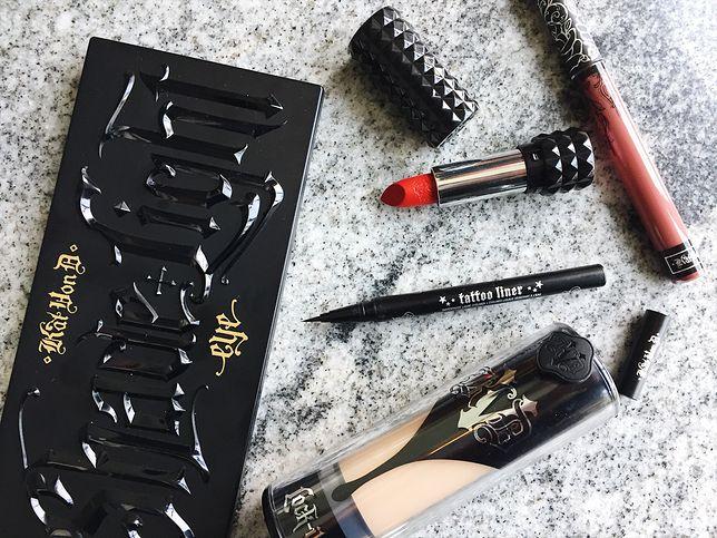 #nawłasnejskórze: test kosmetyków Kat Von D