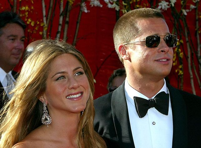 Jennifer Aniston i Brad Pitt, Los Angeles, 2004