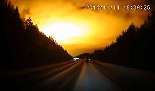 Rosja: Tajemniczy rozbłysk na niebie
