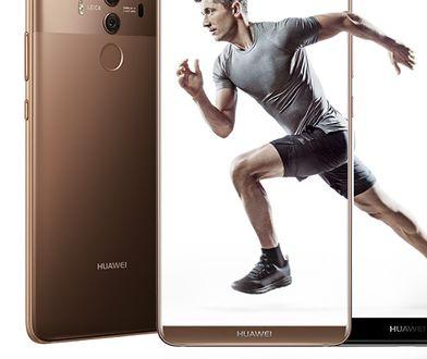 W Polsce twarzą Huawei jest Robert Lewandowski