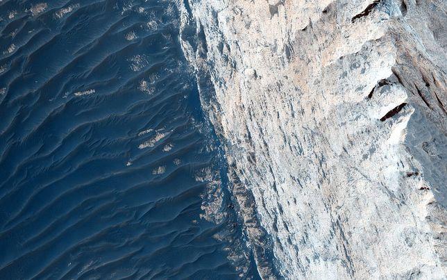 Lód może być przez przyszłych kolonizatorów Marsa