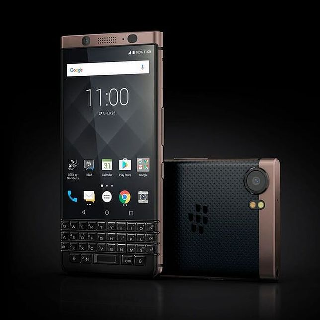 BlackBerry Bronze Edition.