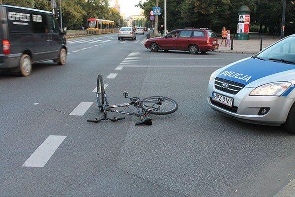 Miejsca, gdzie w Warszawie dochodzi do największej liczby wypadków