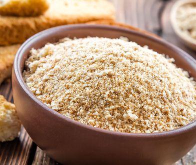 W zdrowej diecie warto ograniczyć stosowanie bułki tartej lub całkiem wykluczyć ją z jadłospisu