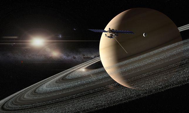 Sonda Cassini przesłała nam kolejne dźwięki kosmosu