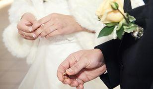 Zapowiadał, że nie dopuści do ślubu