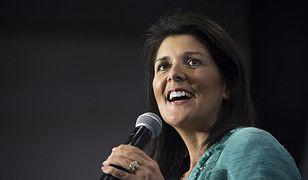 Nikki Haley zostanie ambasadorem USA przy ONZ