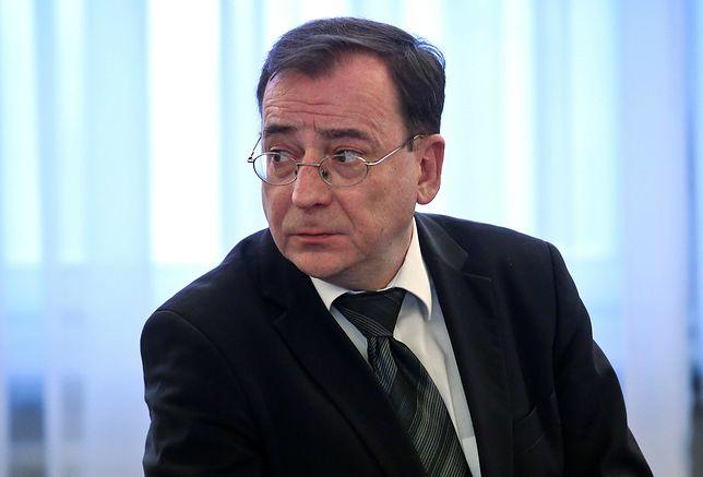 Na koniec z spotkania ust zdenerwowanego ministra padły mocne słowa