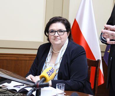 Elżbieta Bojanowska odpowiada za kontrowersyjny projekt ustawy o przemocy w rodzinie