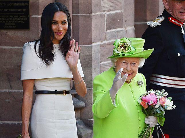 Księżna Meghan zaprzyjaźniła się z królową Elżbietą II