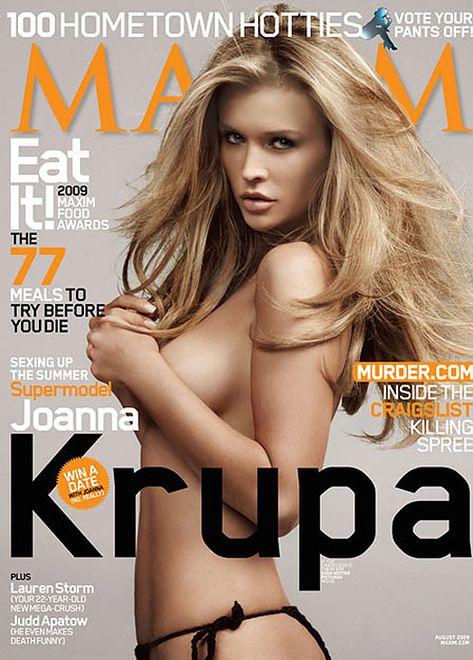 "Joanna Krupa - ""seks sprzedaje""!"