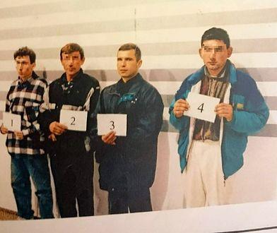 Okazanie Siergieja Sienkiva (nr 3) w 1999 roku. Zdjęcie z policyjnych archiwów.