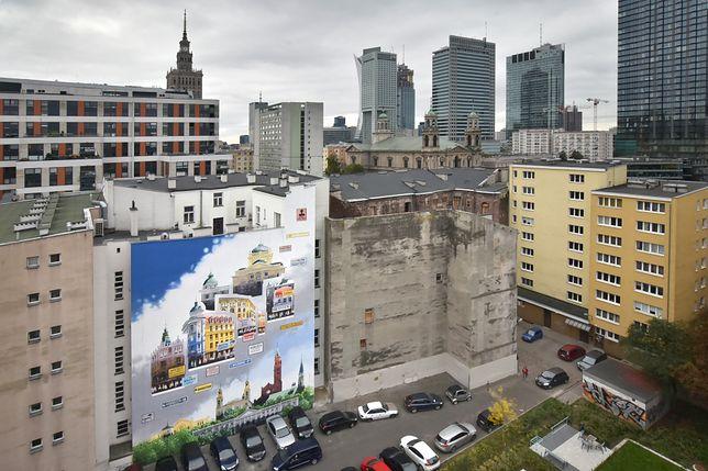 Warszawa. W Śródmieściu odsłonięto nowy mural