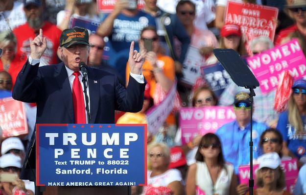 Donald Trump wygrywa w najnowszych sondażach