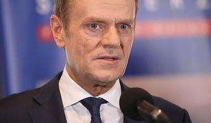 Donald Tusk użył mocnego słowa na wyjście Polski z UE