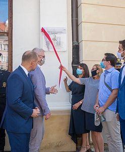 Warszawa. Odsłonięto tablicę upamiętniającą działanie Wojskowego Gubernatorstwa Warszawy