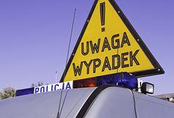 Mazowieckie. Zderzenie samochodu osobowego z busem. Duże utrudnienia na drodze 76