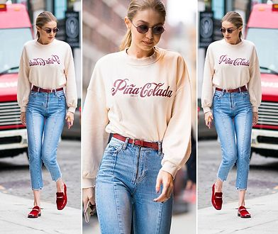 LOOK OF THE DAY: Gigi Hadid w projekcie polskiej marki