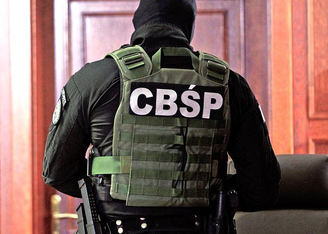 Strzelanina podczas akcji CBŚP w Luboniu
