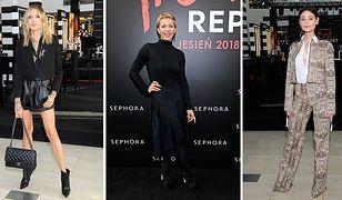 Rosati, Warnke, Sablewska: gwiazdy na imprezie Sephora Trend Report