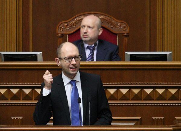 Arsenij Jaceniuk: zwiększamy wydatki na obronność