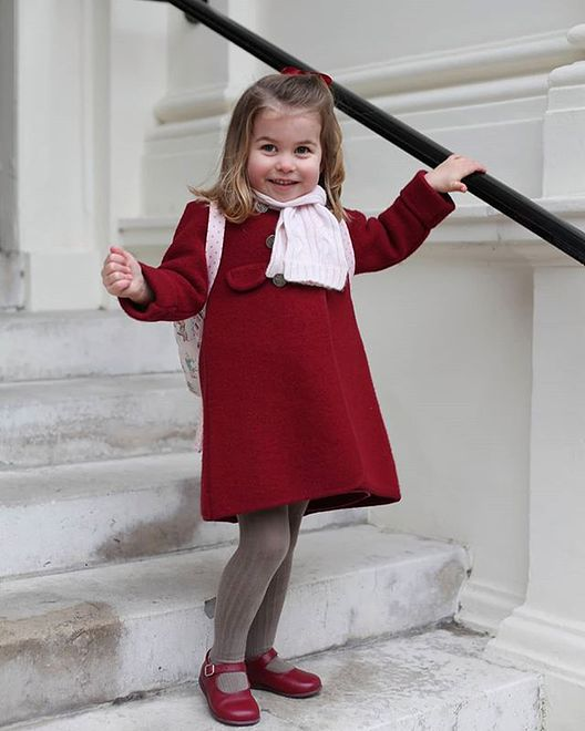 Księżniczka Charlotte widywana jest wyłącznie w spodniach. Wina zachowawczej matki