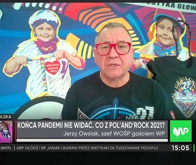 Owsiak o Pol'and'Rock 2021. Nieoczekiwanie pomogło TVP