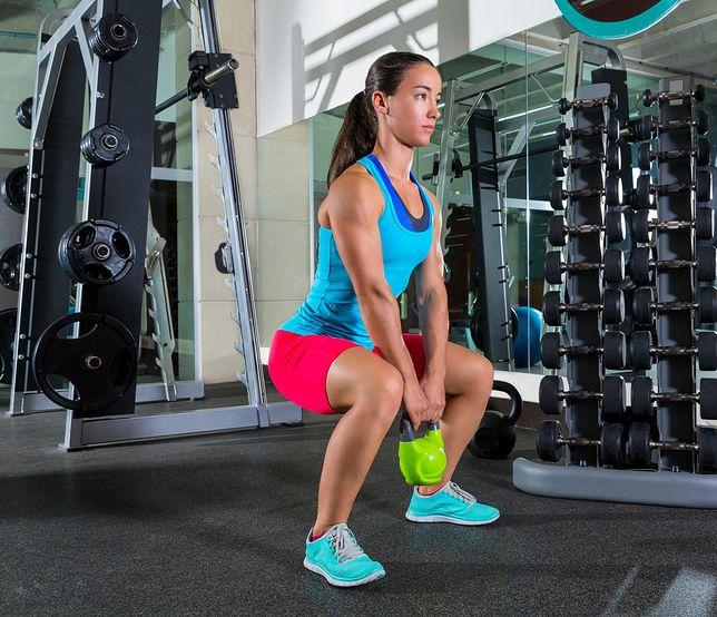 Goblet squat, czyli przysiad z obciążeniem