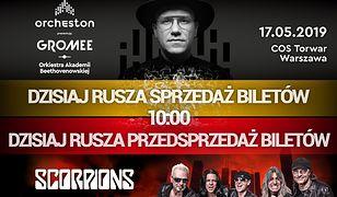 Rusza sprzedaż biletów na Orcheston w Warszawie i przedsprzedaż na Scorpions