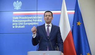 """Mateusz Morawiecki podkreślił, że polski rząd nie zgodzi się na używanie """"niewłaściwych"""" określeń na obozy śmierci"""