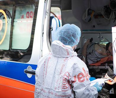 Koronawirus w Polsce. Ewakuacja pacjentów z prywatnego ośrodka opieki w Czerniachowie