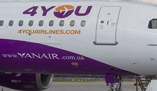 Czarne chmury nad 4YOU Airlines