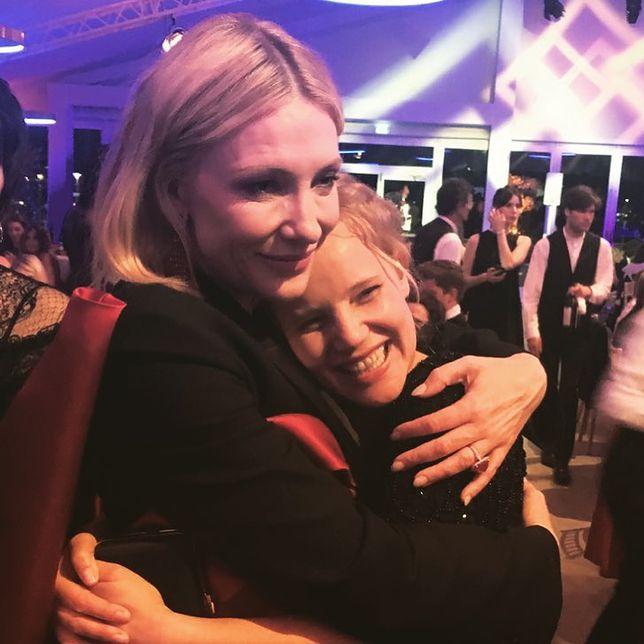 Cate Blanchett i Joanna Kulig