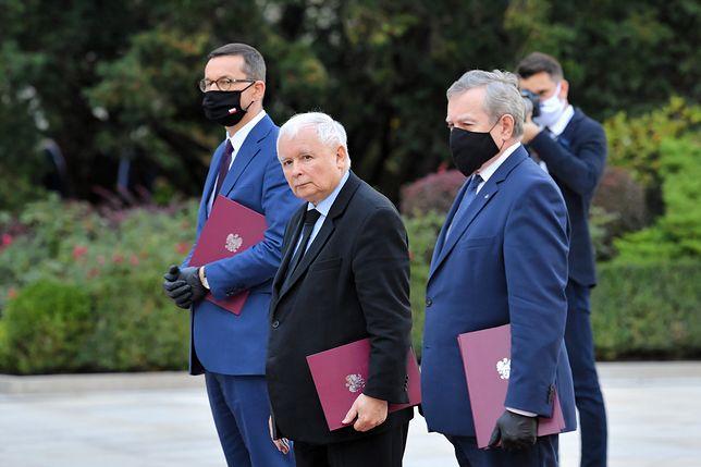 Zaprzysiężenie rządu. Radosław Fogiel tłumaczy zachowanie Kaczyńskiego