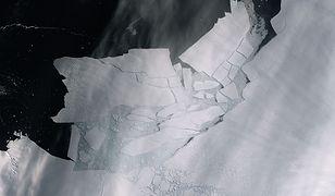 Na Południu coraz cieplej. Góra lodowa wielkości Krakowa oderwała się od Antarktydy