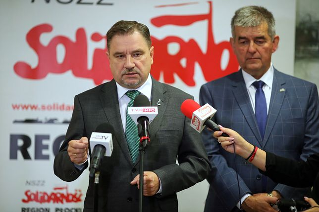 """Jarosław Gowin wraca do rządu. Sprzeciwia się temu lider """"Solidarności"""" Piotr Duda"""