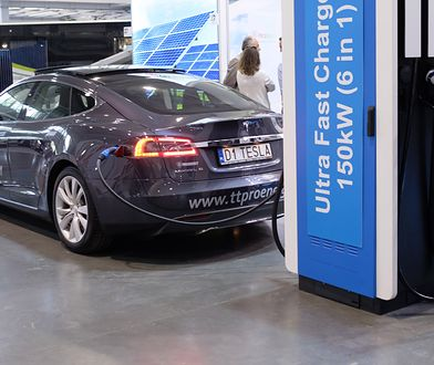 Tesla S, fot. PAP