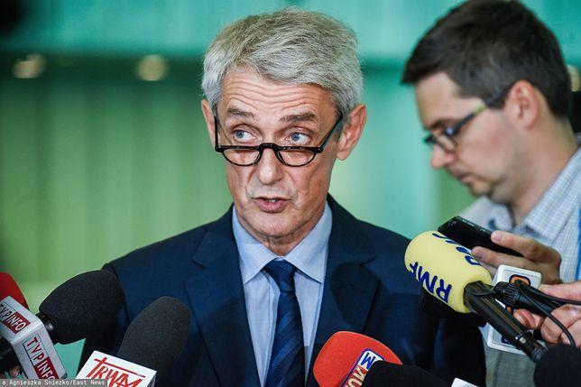 Michał Laskowski przypomniał, że ważność wyborów parlamentarnych stwierdza nowa Izba Kontroli Nadzwyczajnej i Spraw Publicznych