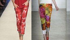 Kolorowe spodnie - hit na lato 2012!