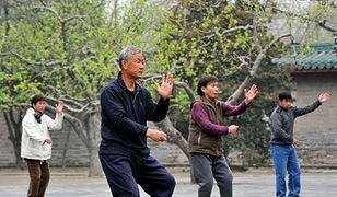 Tai chi pomaga zwalczać depresję u staruszków