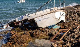 Burza Odette uderzyła w belgijskie wybrzeże