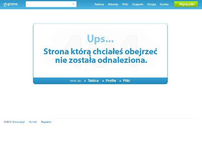 Grono.net przestaje istnieć