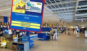2000 zł od sieci IKEA? Pieniędzy nie dostaniesz, a możesz mieć kłopot