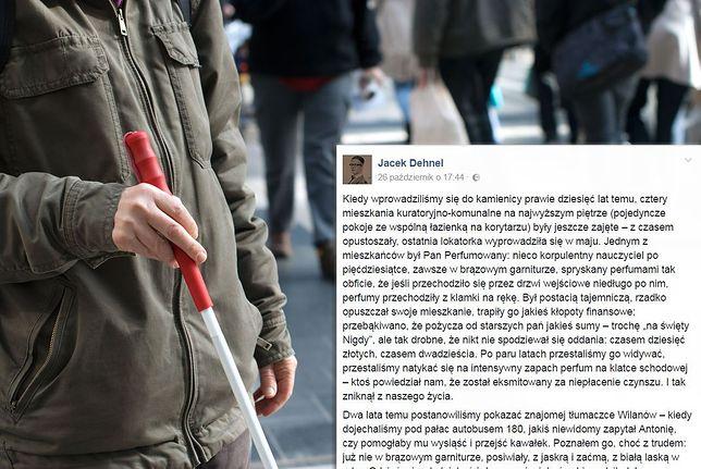 Wzruszająca, warszawska historia. Niepełnosprawny i bezdomny przyszedł po latach, by oddać 20 zł