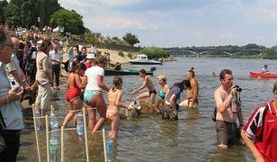 Big Jump, czyli wspólna kąpiel w Wiśle!
