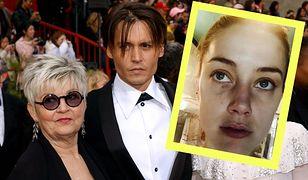 Matka Johnny'ego Deppa stała się kością niezgody między aktorem a jego ówczesną żoną Amber Heard