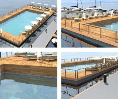 Tak będą wyglądać baseny na wodzie