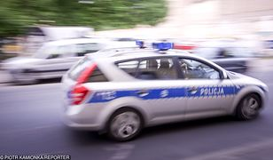 Funkcjonariusze z drogówki eskortowali rodzącą do szpitala