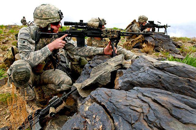 Elitarny oddział wojskowy USA w Polsce - zdjęcia