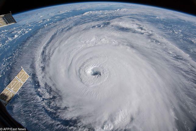 Huragan Florence widziany ze stacji kosmicznej